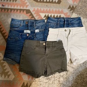 Abercrombie and Fitch shorts bundle